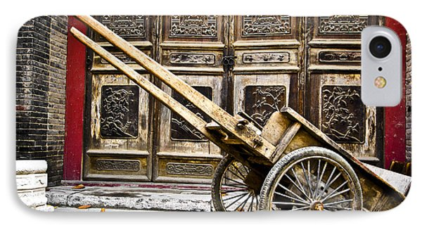 IPhone Case featuring the photograph Chinese Wagon In Color Xi'an China by Sally Ross