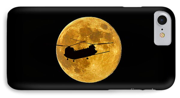 Chinook Moon Color Phone Case by Al Powell Photography USA