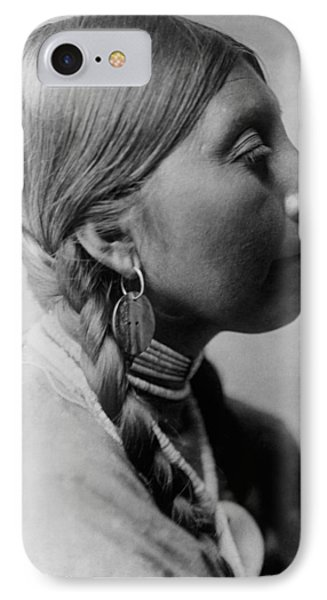 Chinookan Indian Woman Circa 1910 IPhone Case by Aged Pixel