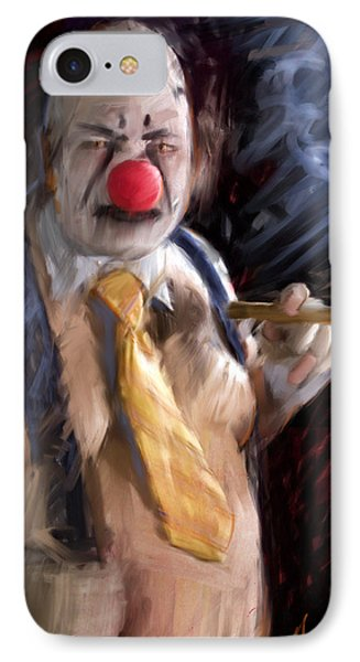 Chippy The Clown IPhone Case by H James Hoff