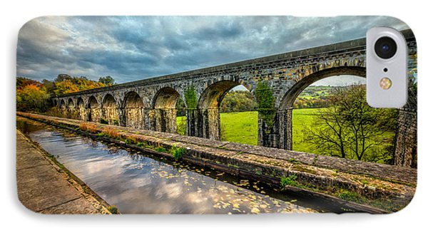 Chirk Aqueduct 1801 IPhone Case by Adrian Evans