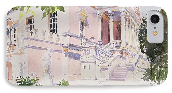 Chiswick House IPhone Case by Lucy Willis