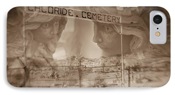 IPhone Case featuring the photograph Chloride Cemetery by Marianne Jensen