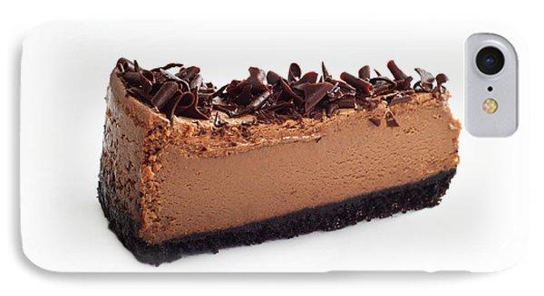 Chocolate Chocolate Cheesecake - Dessert - Baker - Kitchen Phone Case by Andee Design