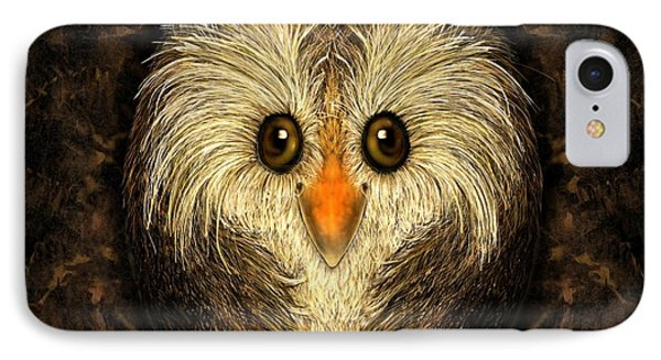 Chocolate Nested Easter Owl IPhone Case