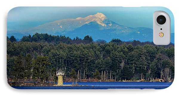 Chocorua And Spindle Point IPhone Case by Mim White