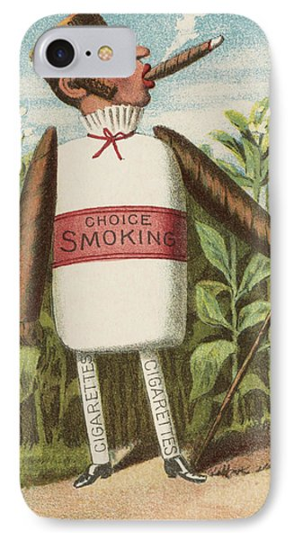 Choice Smoking Phone Case by Aged Pixel