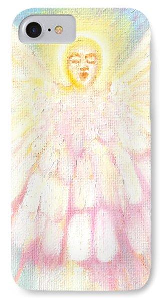 Choiring Angel IPhone Case by Anne Cameron Cutri