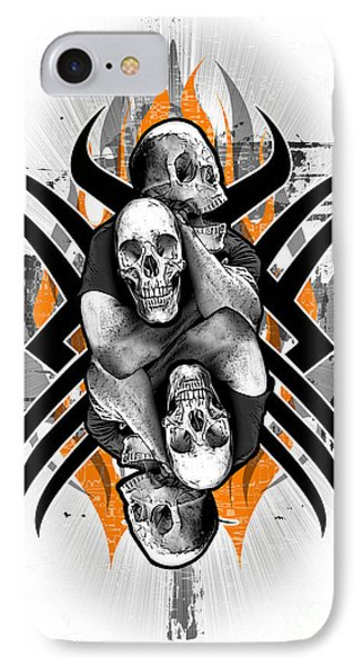 Choke Hold IPhone Case by Gregory Dyer