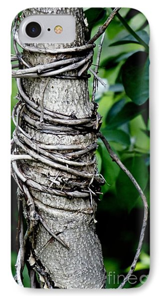 IPhone Case featuring the photograph Choke by Lilliana Mendez