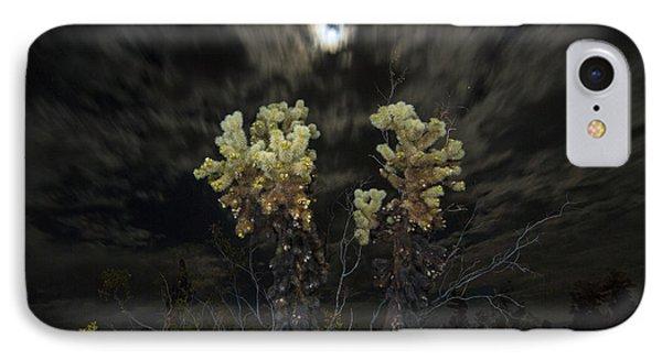 Opuntia Bigelovii iPhone 7 Case - Cholla Light - Joshua Tree National Park by Jamie Pham