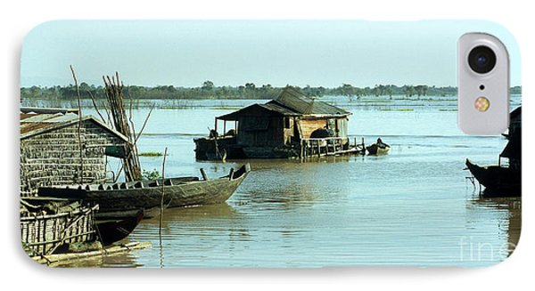Chong Kneas Floating Village IPhone Case