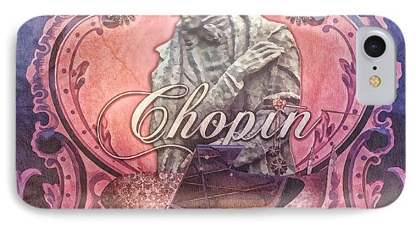 Chopin IPhone Case by Mo T