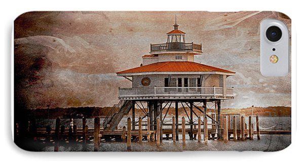 Choptank River Lighthouse IPhone Case