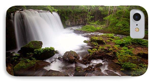 Choushi - Ootaki Waterfall In Summer IPhone Case