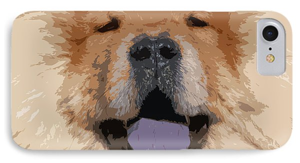 Chow Chow IPhone Case by Nancy Merkle