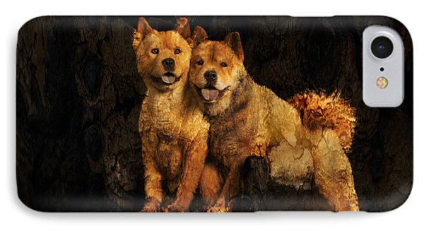 Chow Chow IPhone Case by Richard Mason