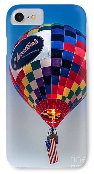 Chretin's Balloon IPhone Case by Robert Bales