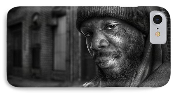 Chris Bw IPhone Case by Rick Mosher