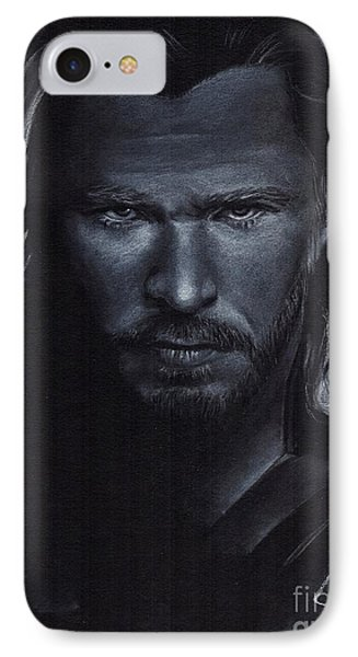 Chris Hemsworth Phone Case by Rosalinda Markle