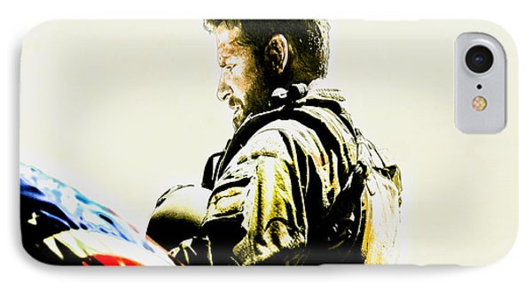 Chris Kyle IPhone Case by Brian Reaves