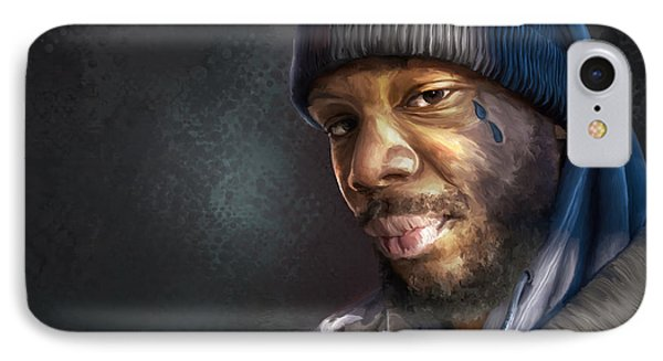 Chris IPhone Case by Rick Mosher