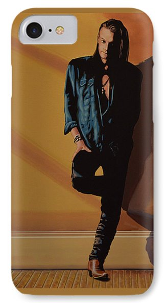Chris Whitley IPhone Case by Paul Meijering