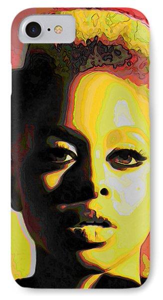 Chrisette Michele 2 IPhone Case by  Fli Art