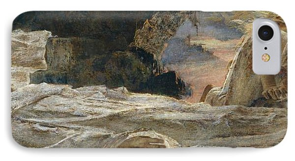 Christ And Mary Magdalene Phone Case by Eugenio Prati