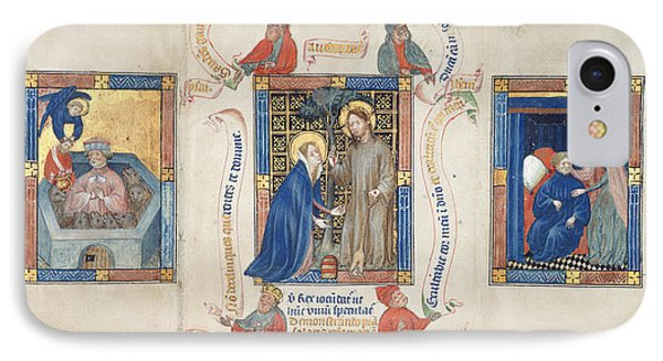 Christ Appears To Magdalene IPhone Case by British Library