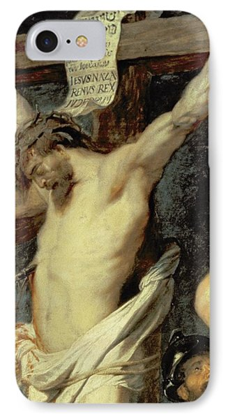 Christ Between The Two Thieves, 1620 IPhone Case by Peter Paul Rubens