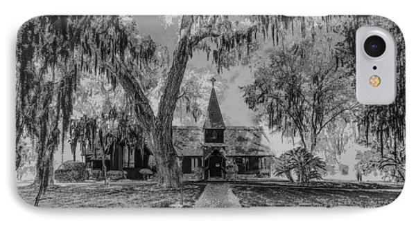 Christ Church Etching IPhone Case