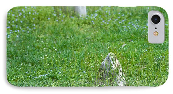 Christ Church Graveyard Phone Case by Kay Pickens