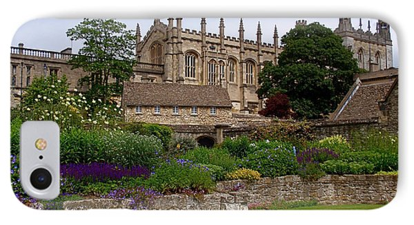 Christ Church In Spring IPhone Case by Rona Black