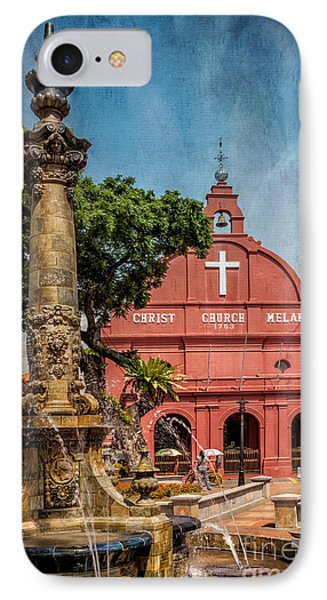 Christ Church Malacca Phone Case by Adrian Evans