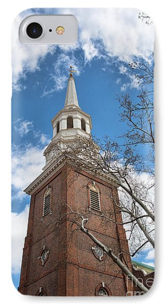 Christ Church Steeple Phone Case by Kay Pickens