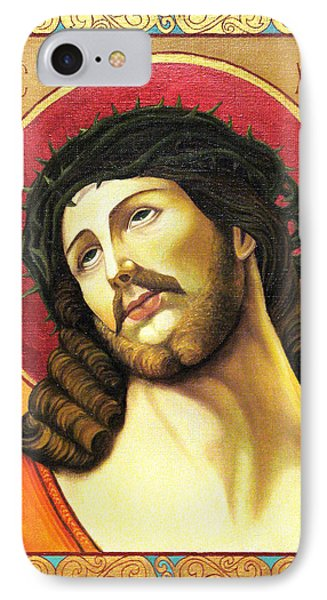 Christ Crowned With Thorns Phone Case by Oksana Nabok