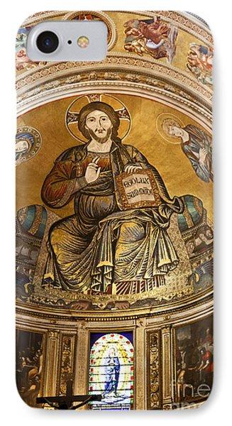 Christ In Majesty  Pisa Duomo Phone Case by Liz Leyden