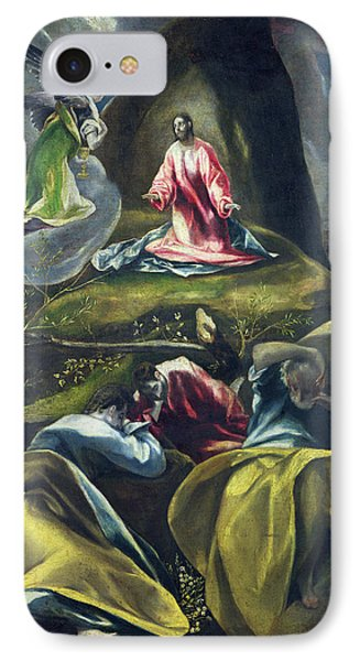 Christ In The Garden Of Olives IPhone Case by El Greco