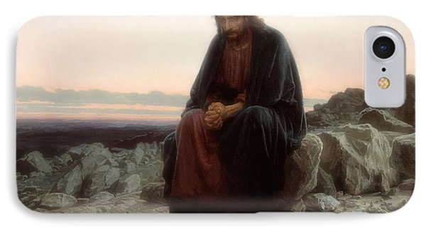 Christ In The Wilderness IPhone Case by Mountain Dreams