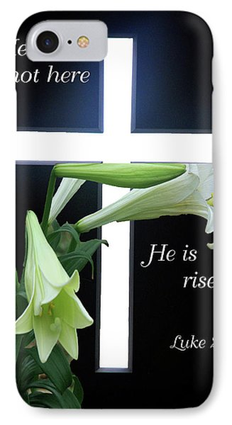 Christ Is Risen IPhone Case by Robyn Stacey