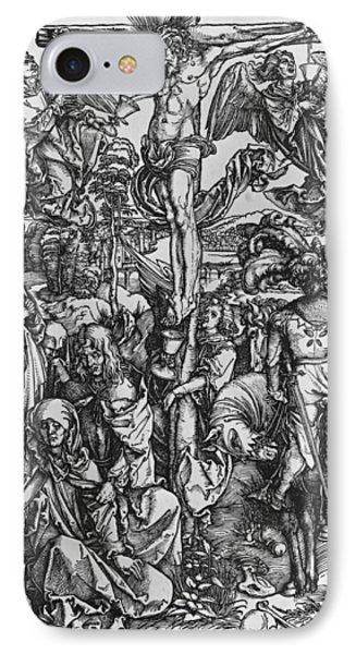 Christ On The Cross IPhone Case by Albrecht Durer or Duerer