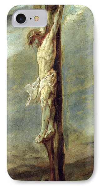 Christ On The Cross IPhone Case by Rubens