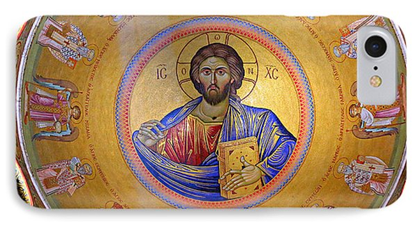 Christ Pantocrator -- No.4 IPhone Case by Stephen Stookey