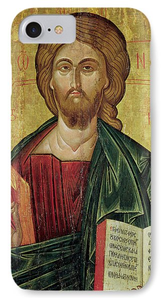 Christ Pantocrator IPhone Case by Bulgarian School