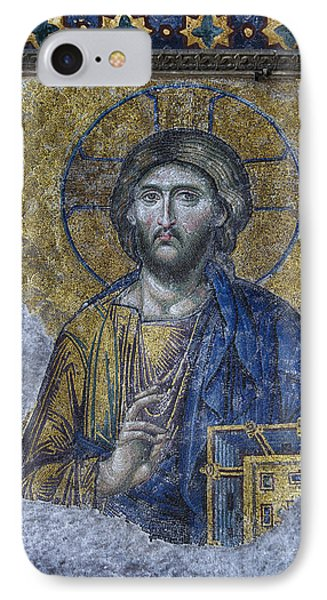 Christ Pantocrator IIi IPhone Case by Stephen Stookey