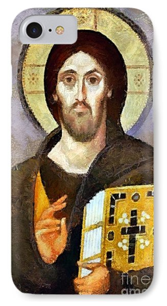 Christ Pantocrator Of Sinai IPhone Case by Dragica  Micki Fortuna