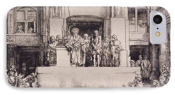 Christ Presented To The People, 1655 Phone Case by Rembrandt Harmensz. van Rijn