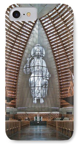 Christ The Light Phone Case by Samuel Sheats