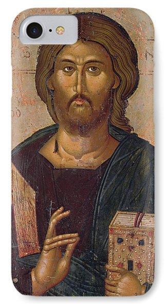 Christ The Redeemer IPhone Case by Byzantine School